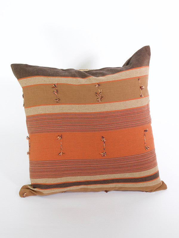 Hill Tribe Light Brown Cushion