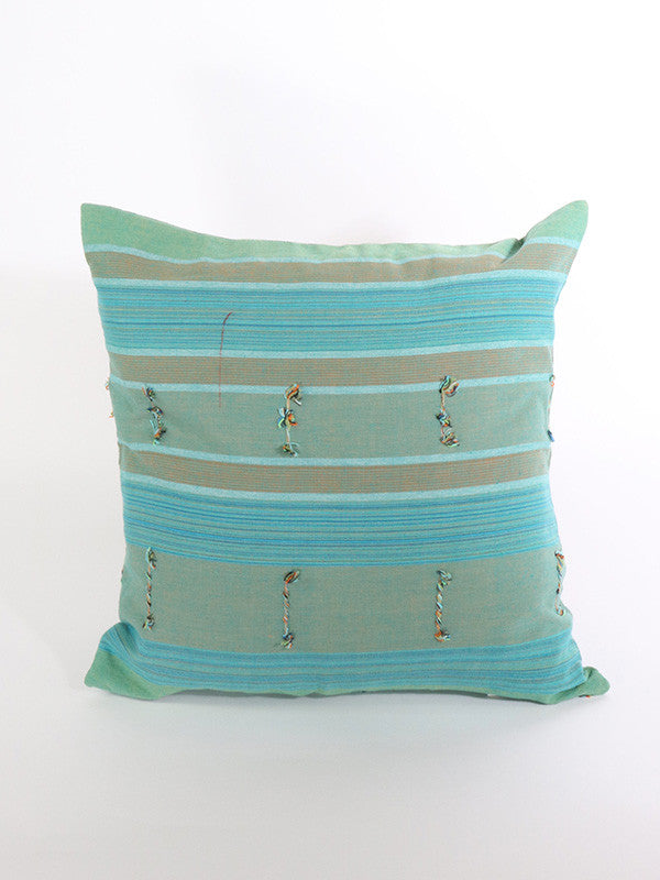 Hill Tribe Turquoise Cushion