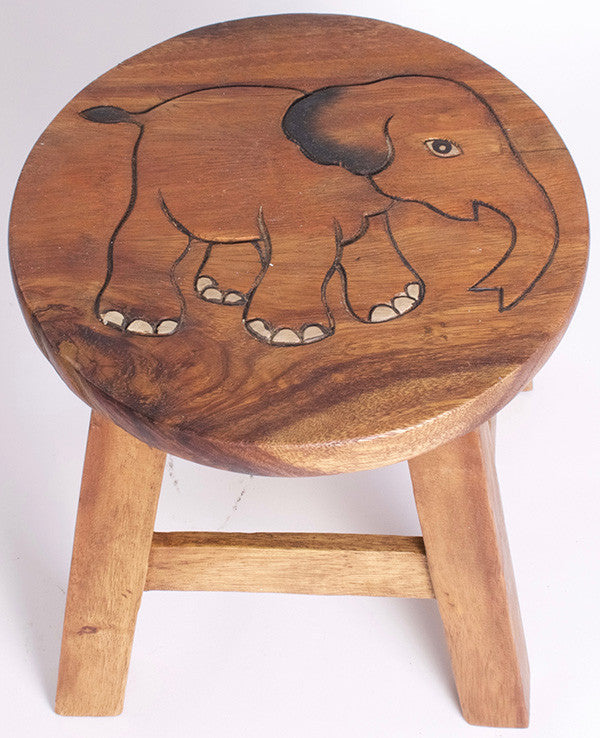 Elephant Kiddie Stool