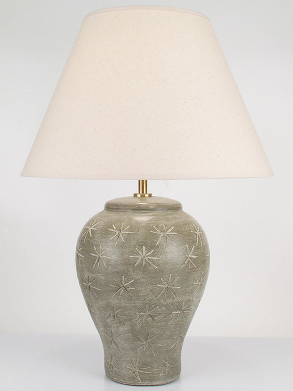 Etched Stars Lamp