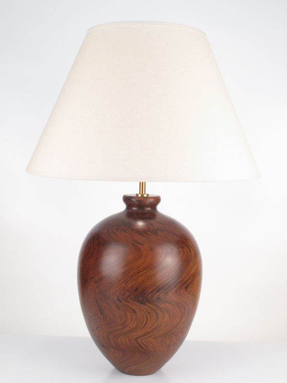 Marble Bottle Lamp