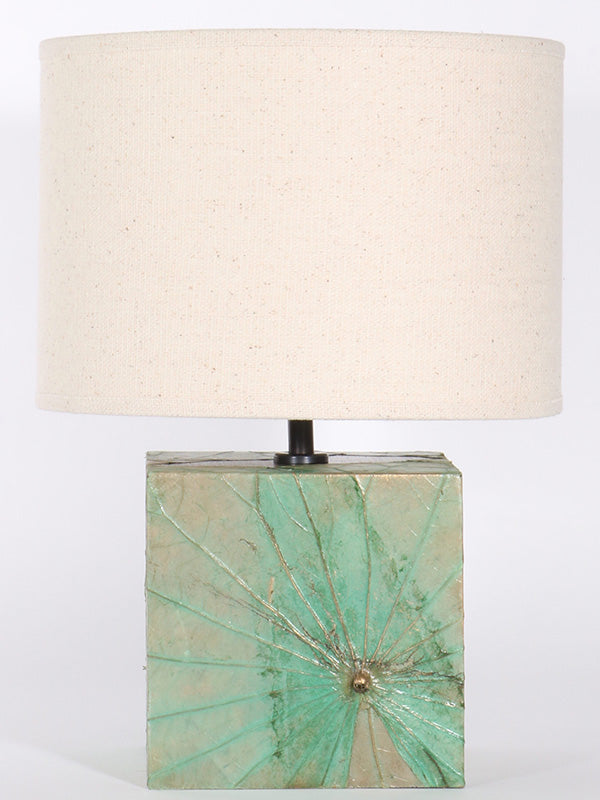 Lotus Leaf Square Lamp - Small