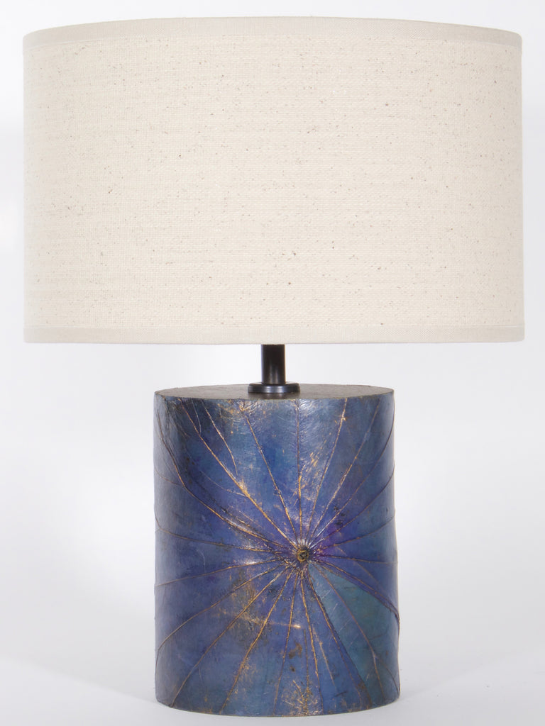 Lotus Leaf Cylinder Lamp - Small