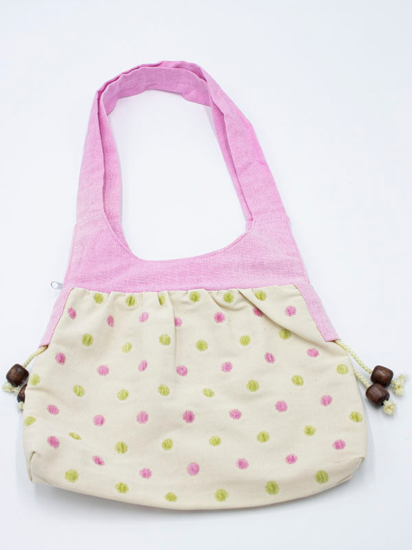 Pretty Pink Dotty Handbag