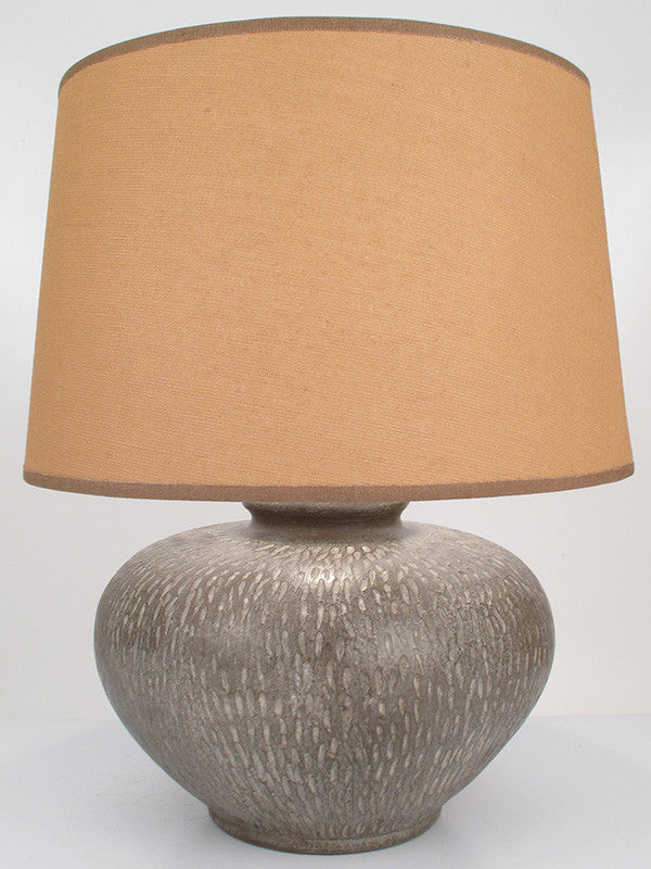 Snakeskin Lamp Medium Taupe