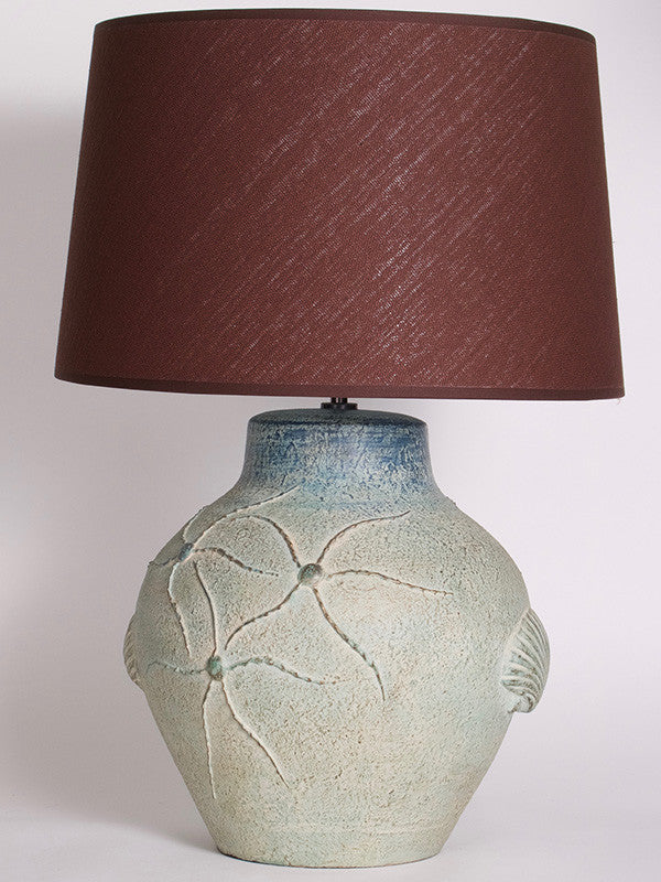 Sea Life Lamp Medium Earth Aqua