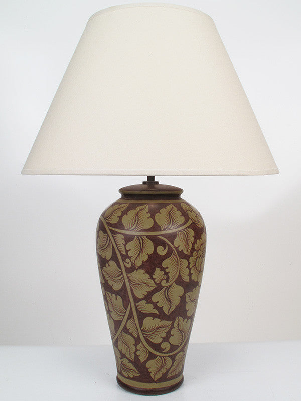 Classic Leaf Lamp - Medium