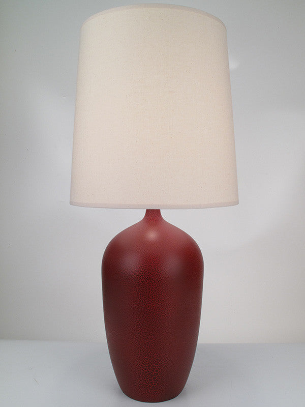 Bottle Lamp Cranberry