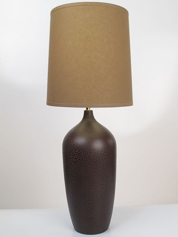 Bottle Lamp Chocolate Brown