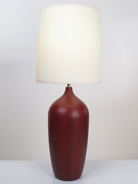 Bottle Lamp - Cranberry