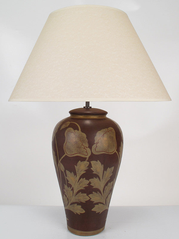 Golden Poppy Lamp