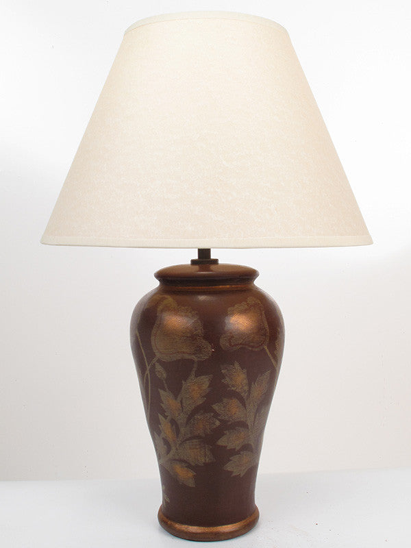Golden Poppy Bedside Lamp