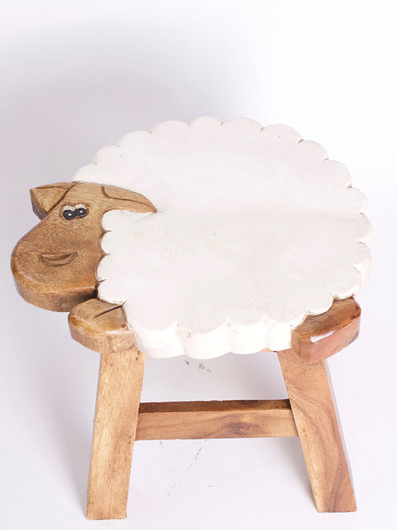 Sheep Kiddie Stool