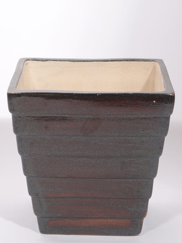 Stepped Square Plant Pot