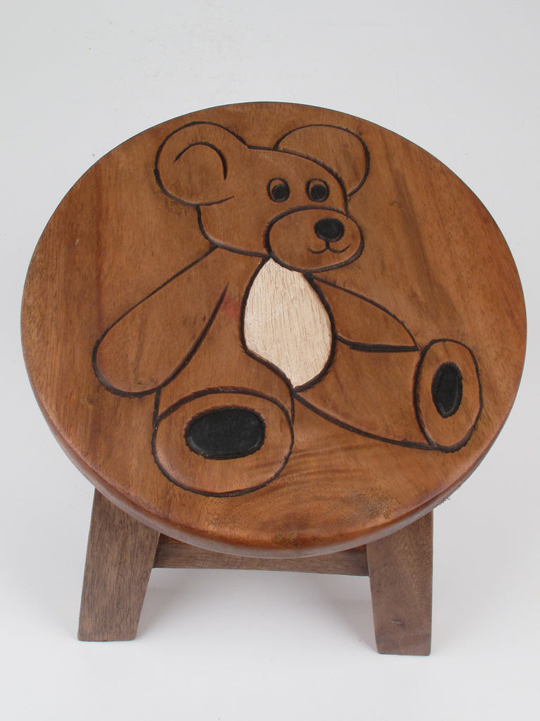 Teddy Bear Kiddie Stool