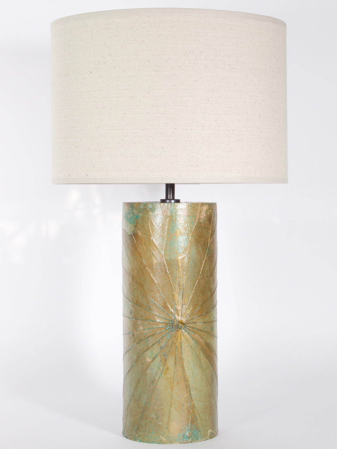Lotus Leaf Cylinder Lamp