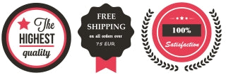Evileve leather accessories with free shipping and garantie