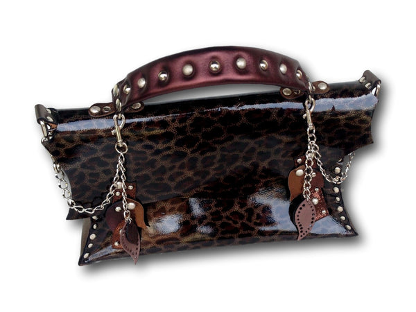 Handmade leather bag (tiger) - EvilEve leather luxury fashion