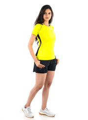Core Technical Yoga & Training Tee - Women's Yellow