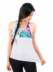 LIMITED EDITION DIVA PRINTED TANK TOP