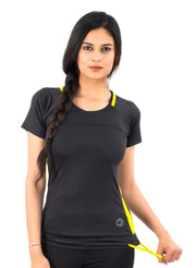 Core Technical Yoga & Training Tee - Women's Black