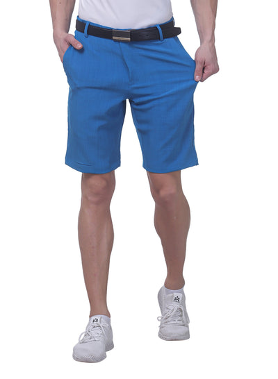 Pro Performance Stretch Golf Shorts - Men's Blue
