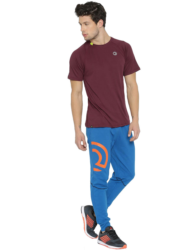 Ultra Light Dryfit Running & Training T-shirt - Men's Maroon