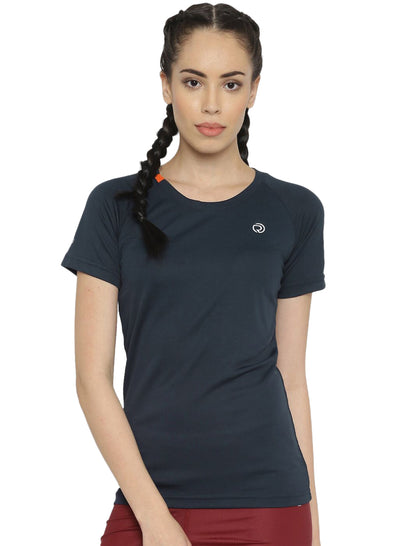 Ultra Light Slim Fit Running & Sports TEE - Women's Navy