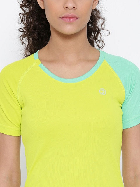 Slim Fit Ultra Light Running TEE - Women's Yellow