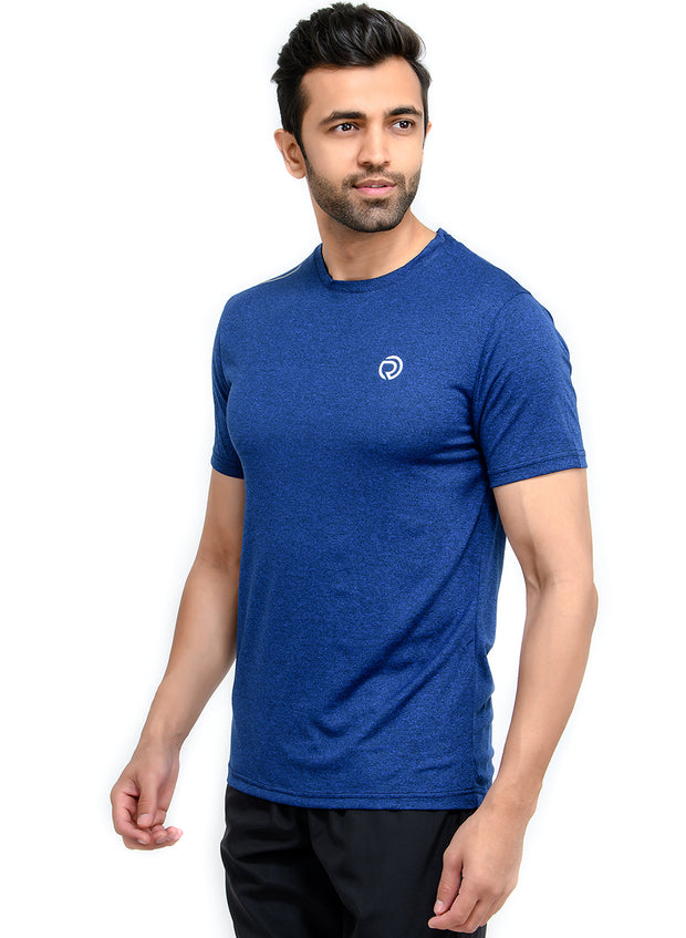 Dry Tech Light Running & Training Tshirt - Anthra Navy