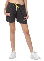 Women's Comfy Cotton Training Shorts - Black