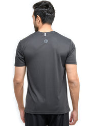 MEN'S DRYFIT PRINTED T-SHIRT - COAL
