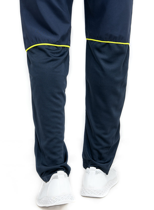 Men's Sports Track Pant with zipper back pocket - NAVY