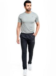 Men's Sports Track Pant with zipper back pocket - Grey