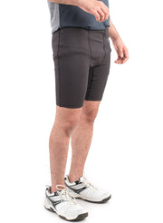 "7"" Detachable Shorts Combo with Phone Pocket - Black"