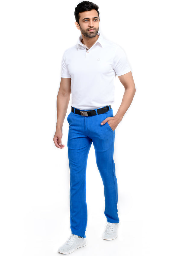 Pro Performance Stretch Golf Pant - Men's Blue