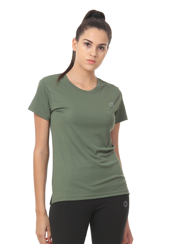 Light Dryfit Running & Sports Tshirt - Sage Green