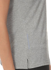Ultra Breathable Dryfit Sports Tshirt with Mesh Back - Anthra Grey