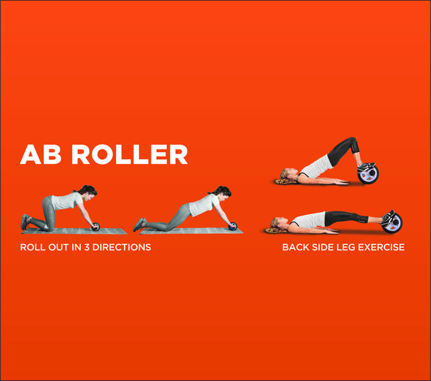 Pro AB Roller (With Special Double Wheels)