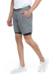 "7"" SPS-II Sports Shorts with Phone Pocket - Men's Anthra Dark Grey"