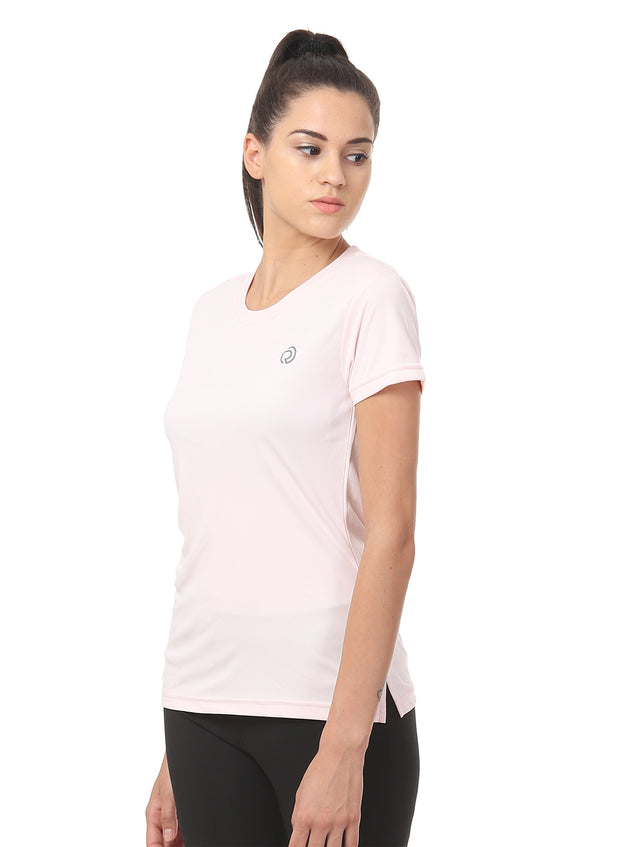 Light Dryfit Running & Sports Tshirt - Light Pink