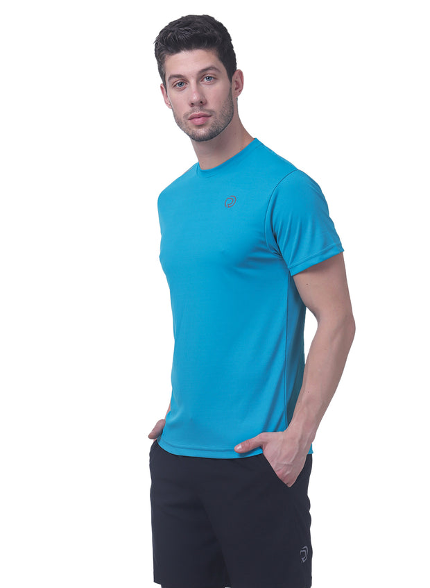 Dry Tech Light Running & Training Tshirt - Blue Teal