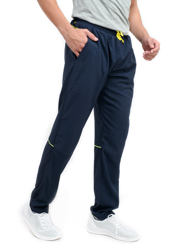 SPS Track - 2-in-1 Sports Track Pant with Phone Pocket - Double Layered - NAVY