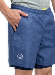 "7"" SPS-II Sports Shorts with Phone Pocket - Men's Anthra Navy"