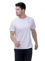 Ultra Light Dryfit Running & Training T-shirt - Men's Whtie