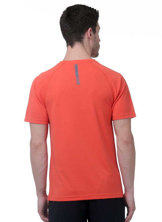 Ultra Light Dryfit Running & Training T-shirt - Men's Red