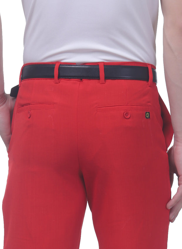 Pro Performance Stretch Golf Shorts - Men's Red