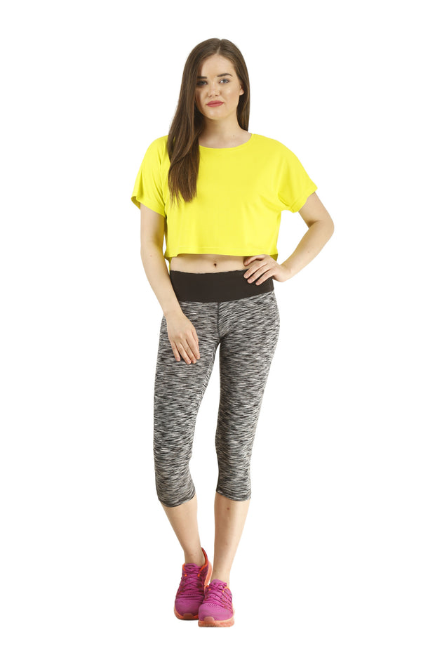 The Flowy Crop Top - Slim Fit