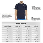 TRUEREVO Men's Stretchy Cotton-Spandex Activewear Tshirt (Pack of 3)