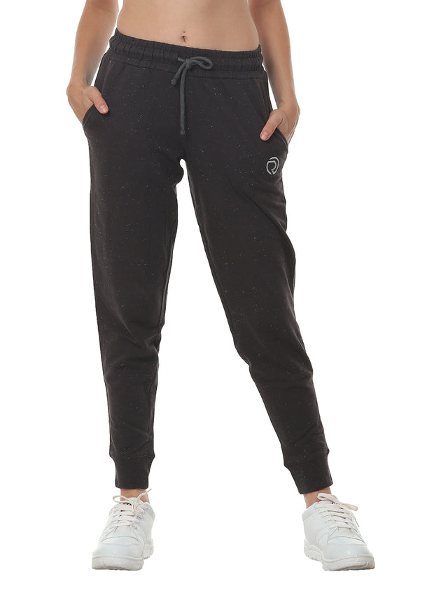 Training & Travel Jogger Pant with 2 Zippered side Pockets - Black
